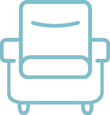 Zetels en comfort